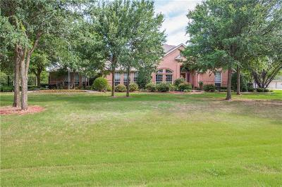 Burleson Single Family Home For Sale: 6100 Oak Hollow Drive