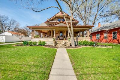 McKinney Single Family Home For Sale: 607 N Church Street