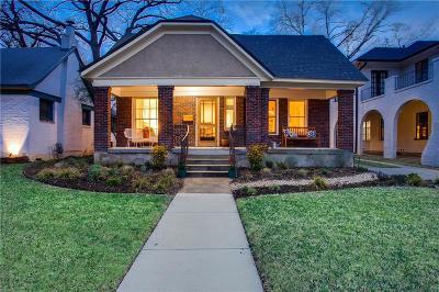 Dallas Single Family Home For Sale: 1047 N Winnetka Avenue
