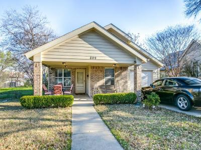 Plano Single Family Home For Sale: 809 13th Street