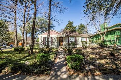Dallas Single Family Home For Sale: 9923 Coppedge Lane