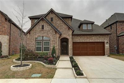 Coppell Single Family Home Active Contingent: 929 Saratoga Way