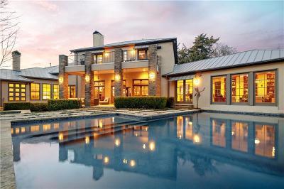 Dallas TX Single Family Home For Sale: $2,350,000