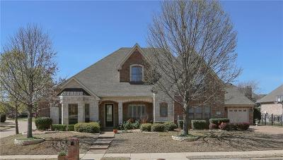 Flower Mound Single Family Home Active Contingent: 4501 Saint Clair Court