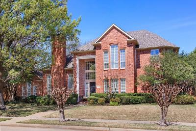 Plano Single Family Home Active Option Contract: 5913 Royal Palm Drive