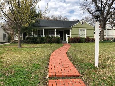 Fort Worth TX Single Family Home For Sale: $149,999