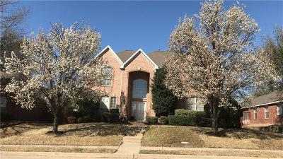Allen Single Family Home Active Option Contract: 702 Bel Air Drive