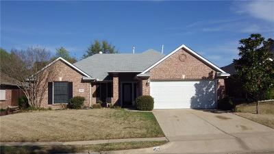 Mesquite Single Family Home Active Option Contract: 4524 Rockcliff Drive