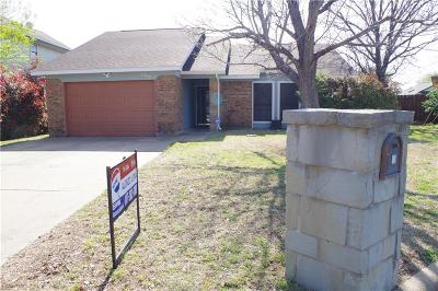 Fort Worth TX Single Family Home For Sale: $129,900
