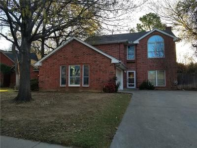 Grapevine Residential Lease For Lease: 5207 Shadow Glen Drive