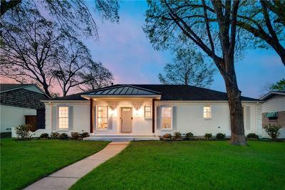 Richardson Single Family Home Active Option Contract: 1304 Cherokee Drive