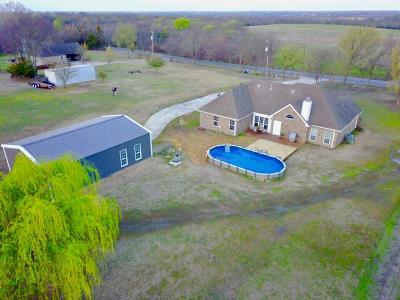 Van Alstyne Single Family Home Active Contingent: 10264 Farmington Road