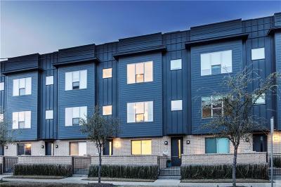 Dallas Townhouse For Sale: 3020 Zenia Drive