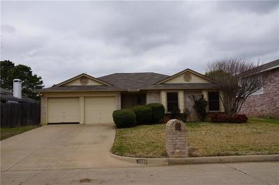 Fort Worth Single Family Home For Sale: 1221 Nicole Way