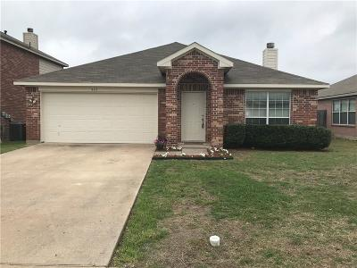 Waxahachie Single Family Home Active Option Contract: 341 Creekside Way