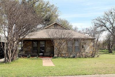 Glen Rose Single Family Home Active Option Contract: 401 E Elm Street