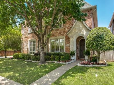 Highland Park, University Park Single Family Home For Sale: 3136 Rosedale Avenue
