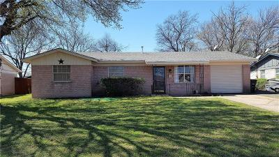 Fort Worth Single Family Home For Sale: 5620 Cloverdale Drive