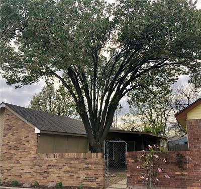 Fort Worth TX Single Family Home For Sale: $135,000