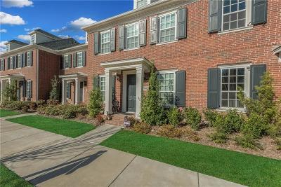 Frisco Townhouse Active Option Contract: 8063 Canal Street
