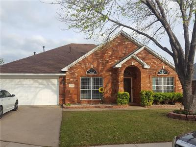 Haltom City Single Family Home Active Option Contract: 5872 Echo Bluff Drive