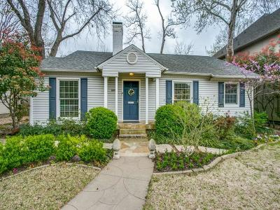 Single Family Home For Sale: 4409 Greenbrier Drive