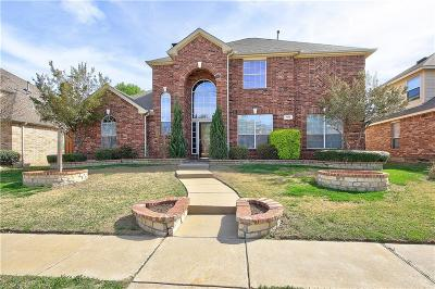Allen Single Family Home Active Contingent: 1618 Clarke Springs Drive