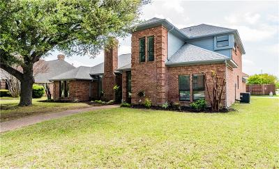 Plano TX Single Family Home Active Option Contract: $435,000