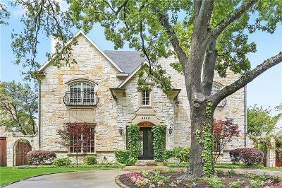 University Park Single Family Home For Sale: 4028 Southwestern Boulevard