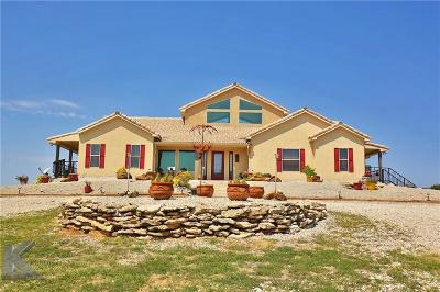 Brownwood Single Family Home Active Option Contract: 7248 County Road 234