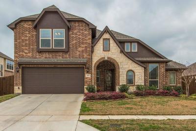 Aubrey Single Family Home For Sale: 1012 Longhorn Drive