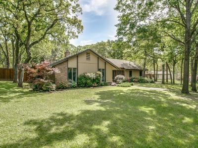 Colleyville Single Family Home Active Option Contract: 2705 Hickory Hill Lane