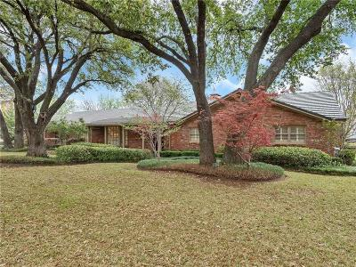 Overton Park Add, Overton Woods Add, Tanglewood Add Single Family Home For Sale: 3809 Trails Edge Road