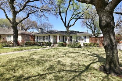 Single Family Home For Sale: 6835 Woodland Drive