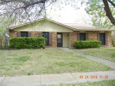 Rowlett Single Family Home For Sale: 8809 Westfield Drive