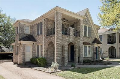 Dallas Multi Family Home Active Option Contract: 6040 Vickery Boulevard