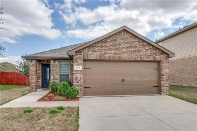 Azle Single Family Home Active Option Contract: 105 Bridlewood Street