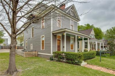 Dallas Single Family Home Active Option Contract: 2707 Hibernia Street