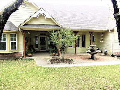 Hico Single Family Home Active Option Contract: 7875 County Road 236