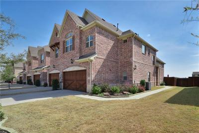 Lewisville Townhouse For Sale: 126 Preserve Place
