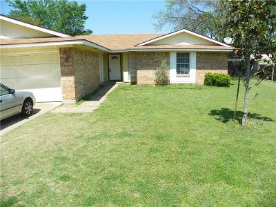 Lewisville Single Family Home Active Option Contract: 837 Salem Trail