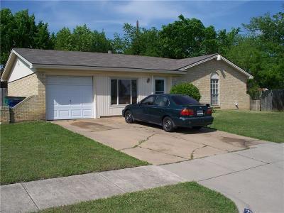 Watauga Single Family Home For Sale: 5845 Haney Drive