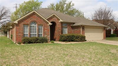 Hurst Single Family Home Active Contingent: 401 Woodland Court