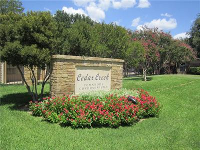 Benbrook Condo For Sale: 5726 Cedar Creek Drive