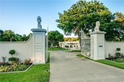 Dallas Single Family Home For Sale: 5656 Cedar Ridge Drive