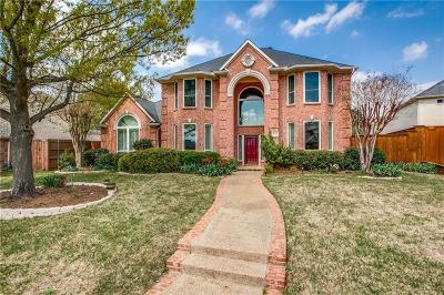 Plano Single Family Home Active Contingent: 3605 Mount Vernon Way