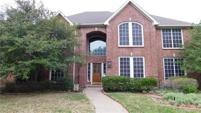 Plano  Residential Lease For Lease: 3705 Branchwood Drive