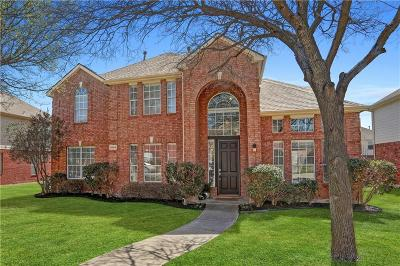 Plano Single Family Home Active Option Contract: 3604 Dripping Springs Drive
