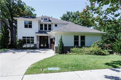 Dallas Single Family Home For Sale: 6826 La Vista Drive