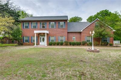 Cedar Hill Single Family Home For Sale: 1850 Mansfield Road